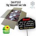 Colis  découverte 12kg avec 1 côte